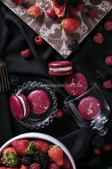 Cheesecake e Frutas Vermelhas