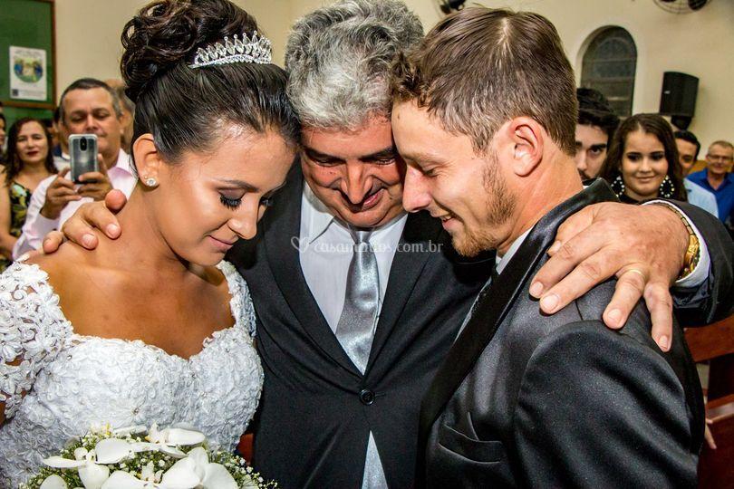 A benção do Pai da noiva