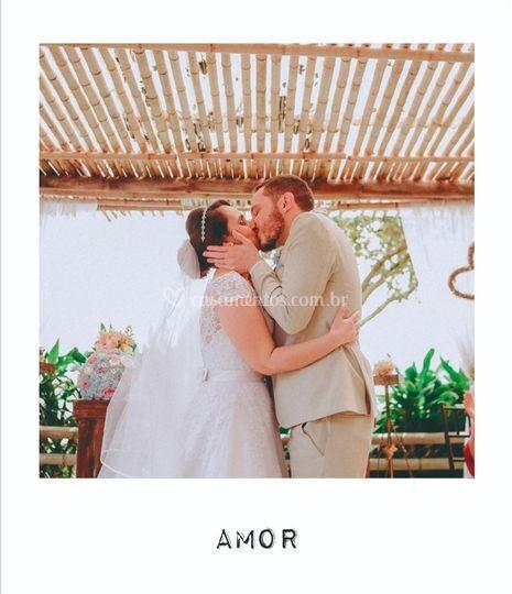 Imagens cedidas pelos noivos