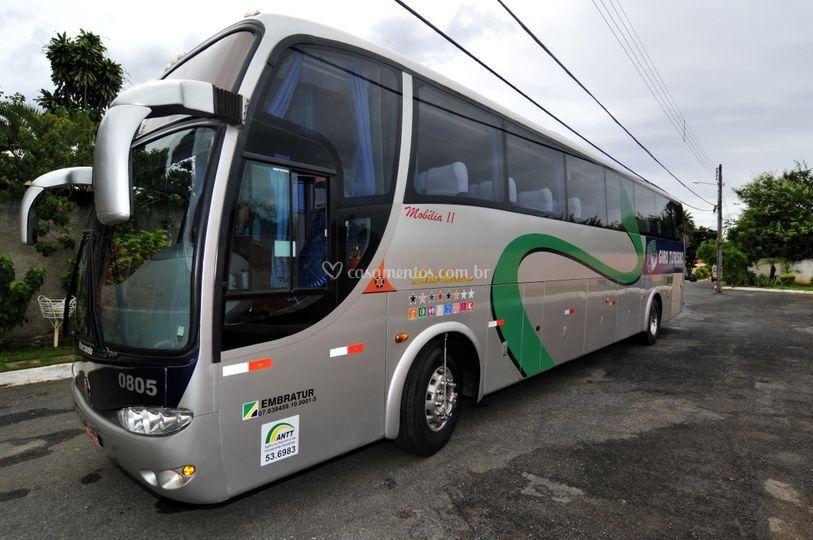 ônibus para casamentos com muitos convidados