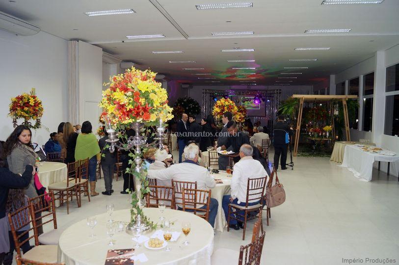 Salão e pista de dança