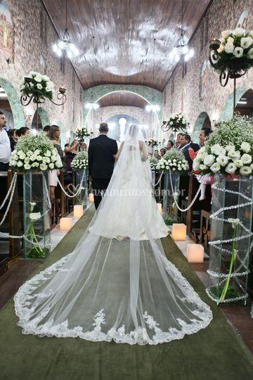 Mantilha da noiva...