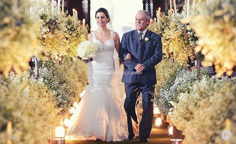 Noiva e Pai