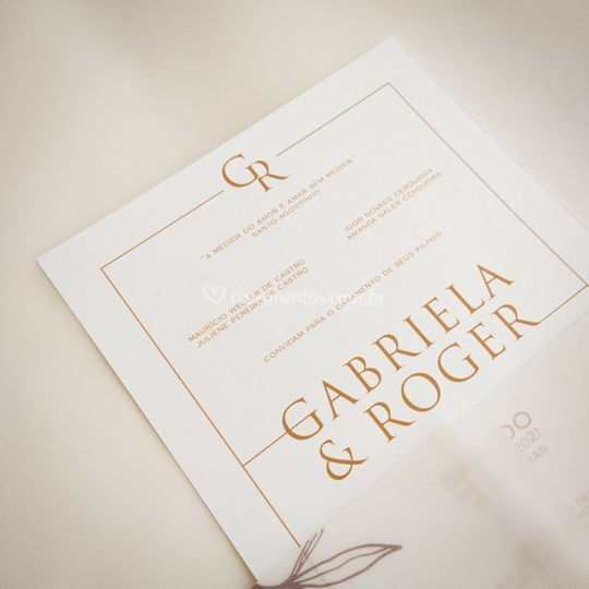 Convite vegetal: Gabriela