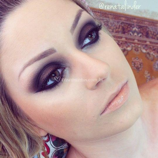 Maquiagem com estilo