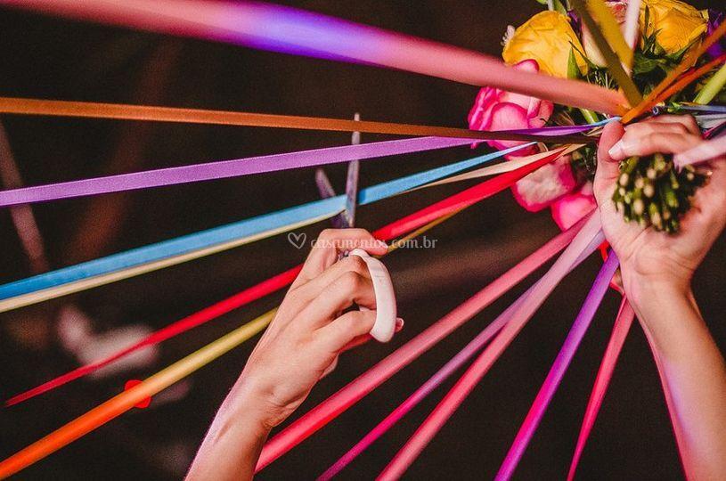 Buque de noiva - Foto Pedro