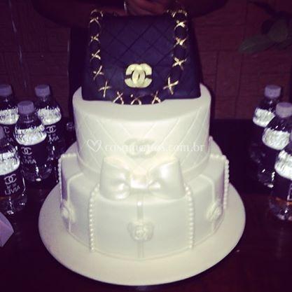 Decoração do bolo