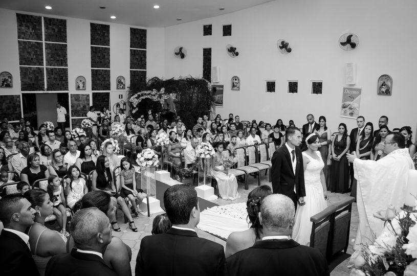 Imagem aberta da cerimônia