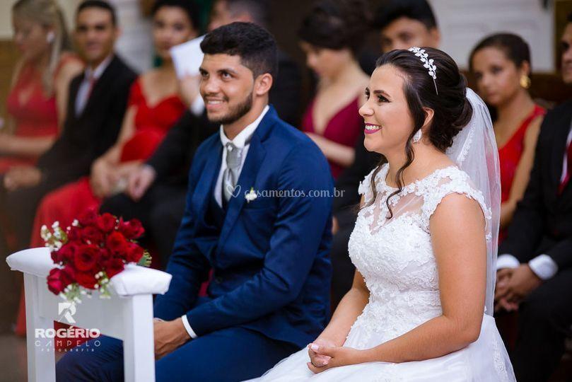 Jociane e Andson casamento