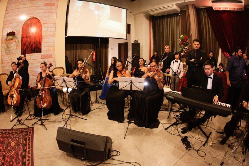 Valsa de 15 anos com orchestra