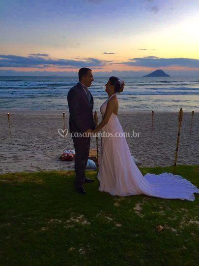 Casamento realizado em juquehy