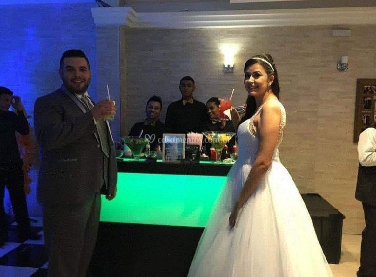 Drink noiva e Noivo