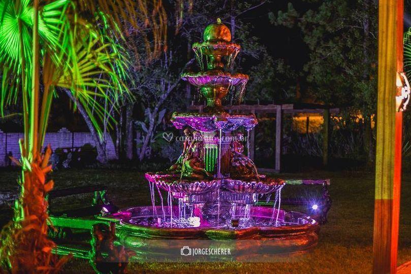 Jardim Babylônia - Chafariz