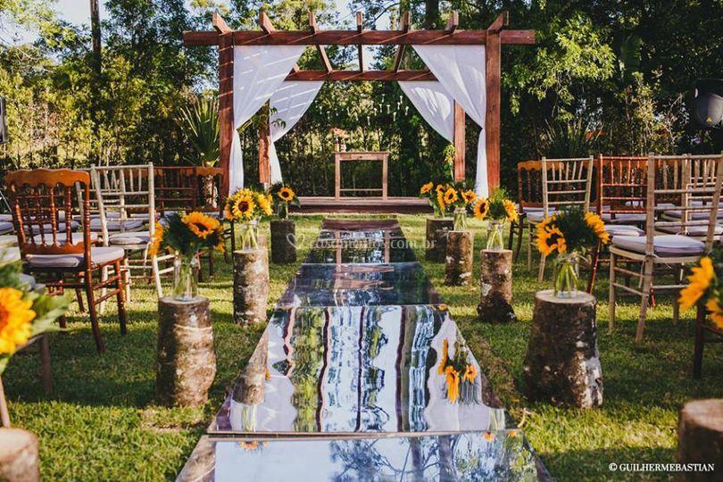 Jardim Babylônia - Cerimônia