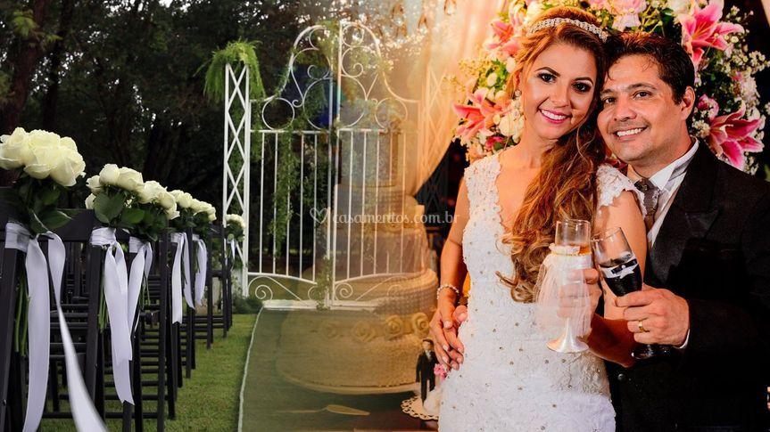 Casamento: katiana e Clério