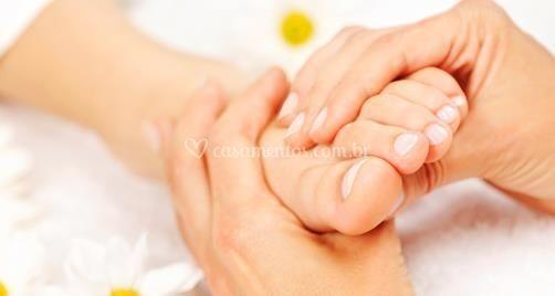 Massoterapia para os pés