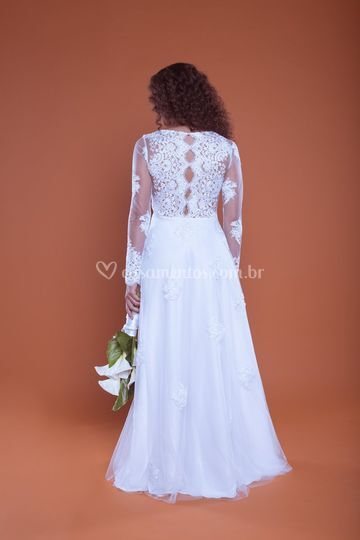 Vestido de Noiva Pina