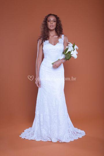 Vestido de Noiva Mercedes