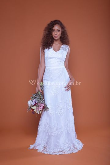 Vestido de Noiva Violeta