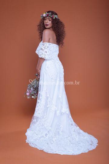 Vestido de Noiva Elza