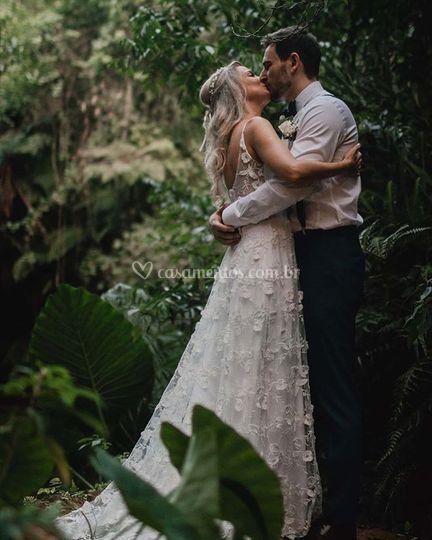 Vestido Geo - Noivas Reais