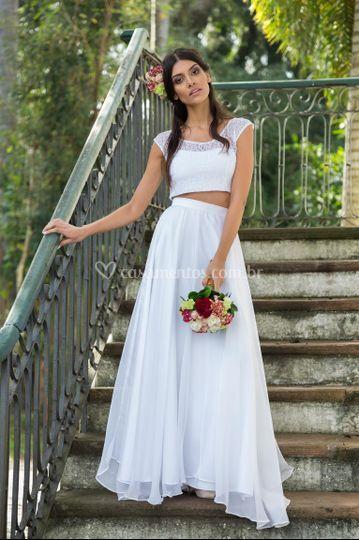 Vestido de noiva Lívia