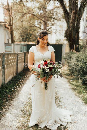 Vestido Elis - Noivas Reais