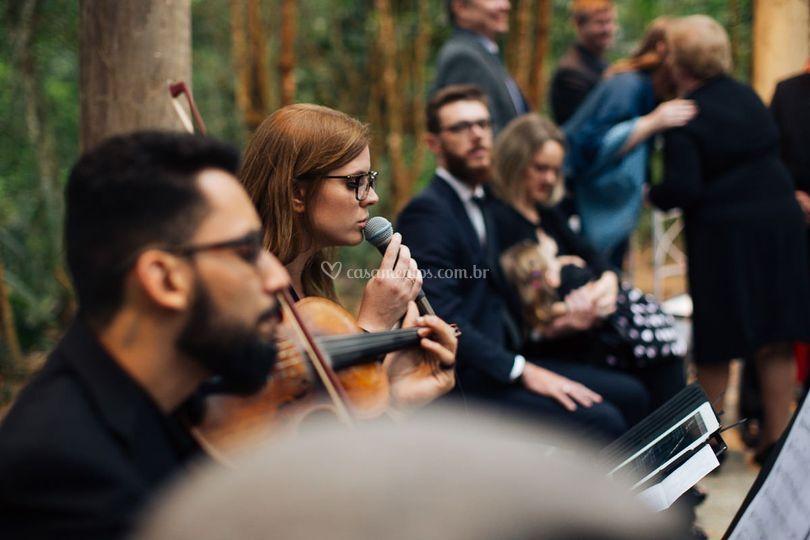 Piano violino e voz