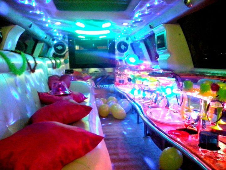Limousine para despedidas