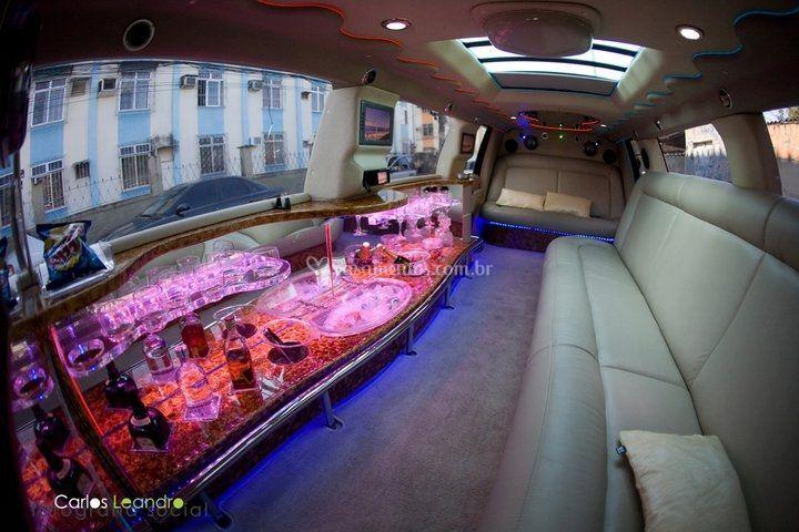 Interno Limousine preta