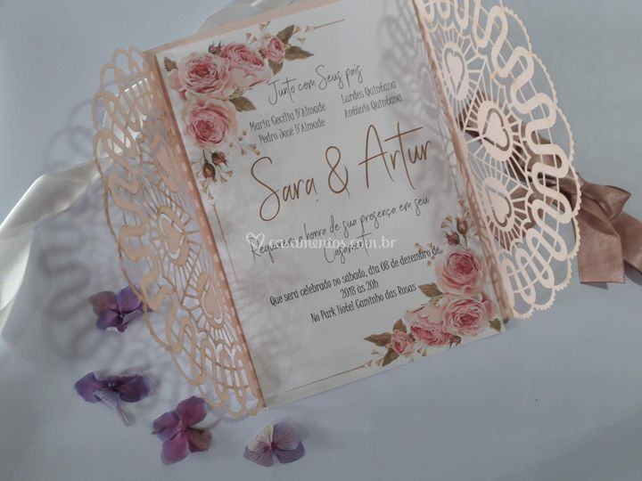 Convites românticos