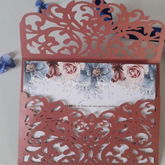 Rosé cinnamon e classic blue
