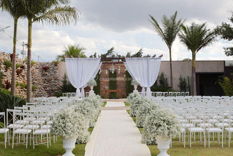 Área para cerimônia