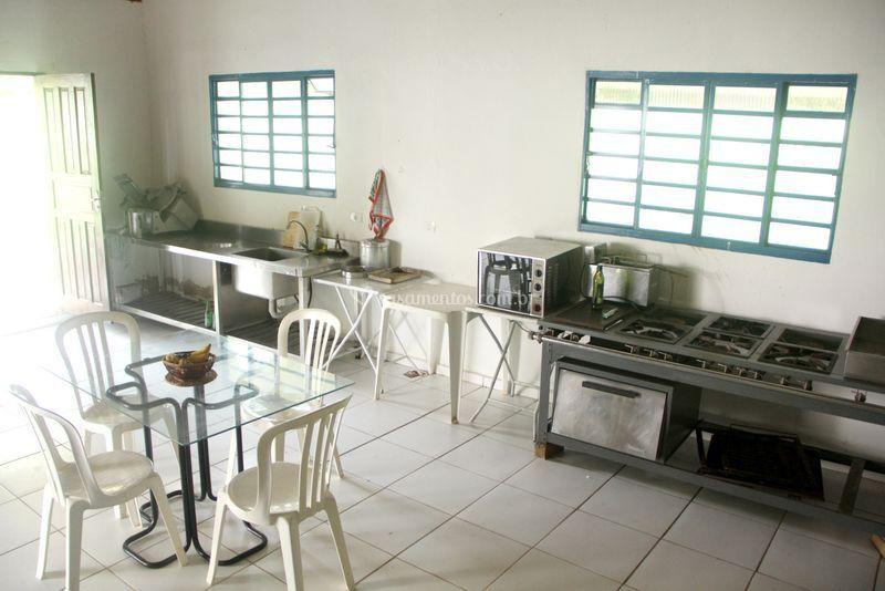 Cozinha para buffet