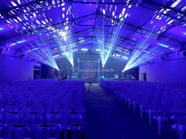 Iluminação cênica p/ teatro.