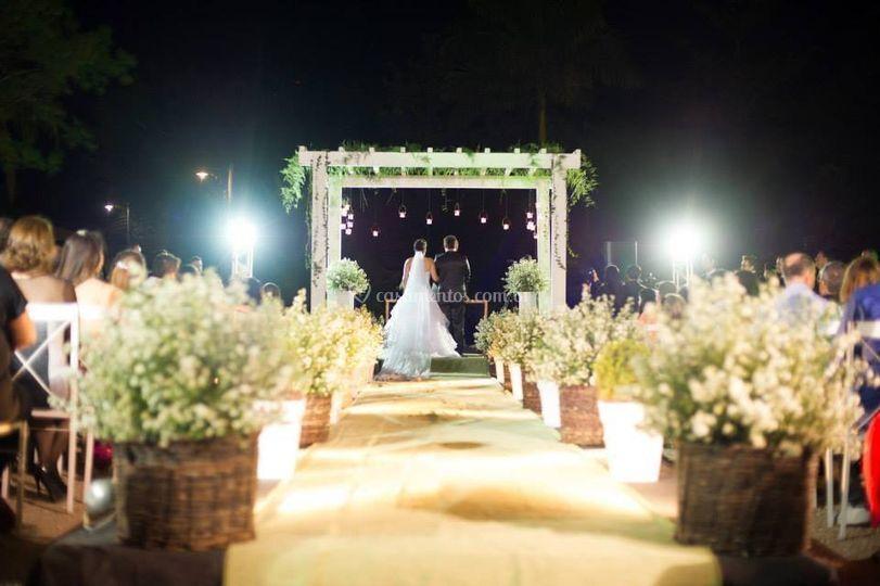 Iluminação p/ cerimonia