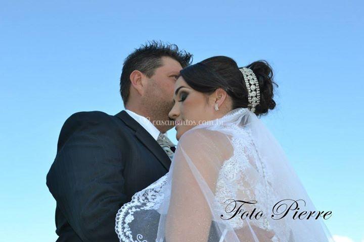 Noivos Emilia e Carlos