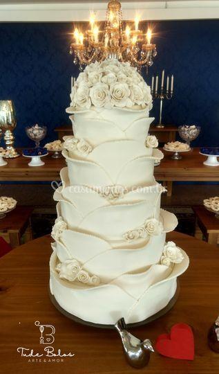 Bolos pra casamento