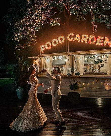 Foodtruck wedding