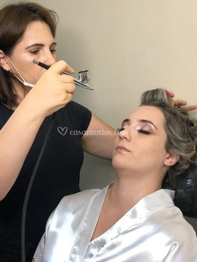 NOIVA JESSICA MAKE AIRBRUSH