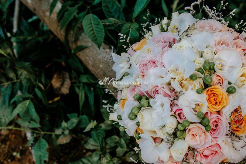 Buque viva flores