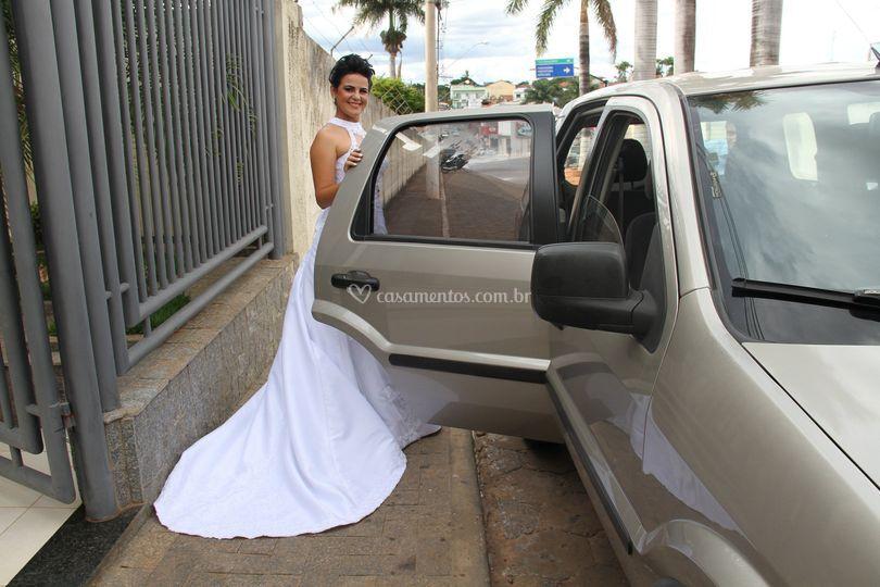 Traslado noiva
