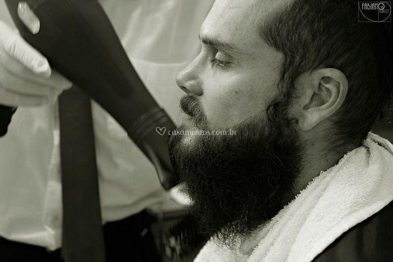 Hidratação de barba