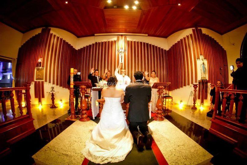 Trio, cerimônia de casamento