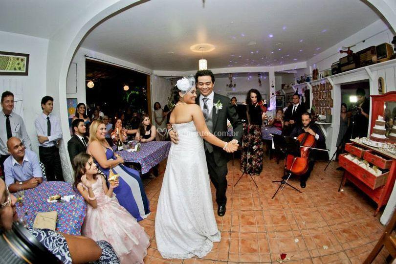 Dueto, dança dos noivos