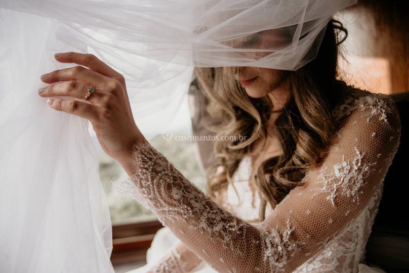 Retrato Noiva Véu