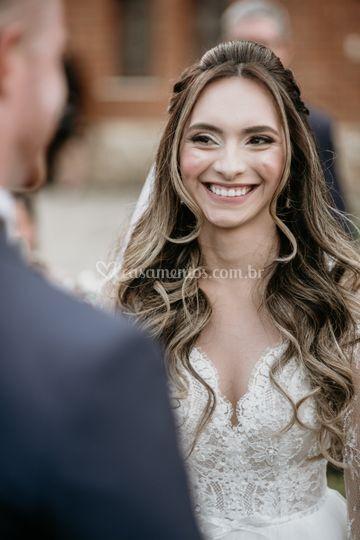 Noiva Cerimônia Olhar