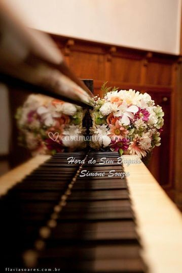 Buquet noiva com mix de flores