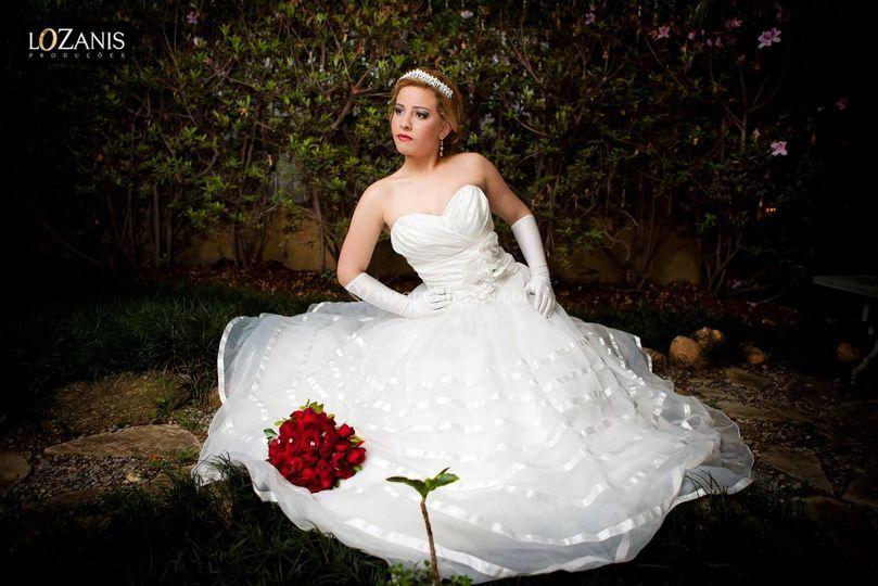 Vestido de Noiva 4015