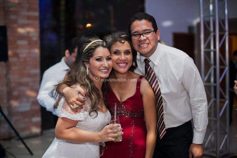 Com a noiva